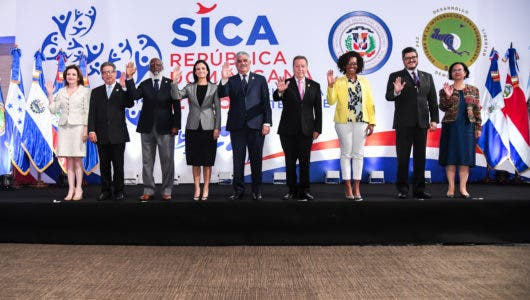 Foto oficial ministros SICA