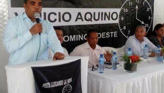 Vinicio Aquino vaticina habrá nuevas caras a nivel municipal en SDO
