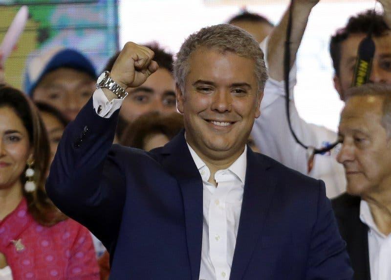 El presidente electo de Colombia, Iván Duque, llama a la unidad
