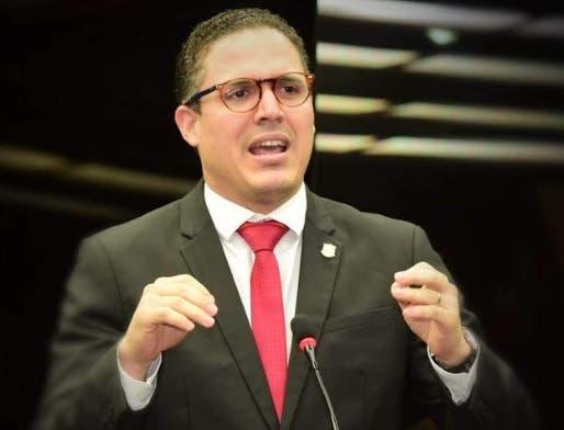Diputado del PRM, Jean Luis Rodríguez.
