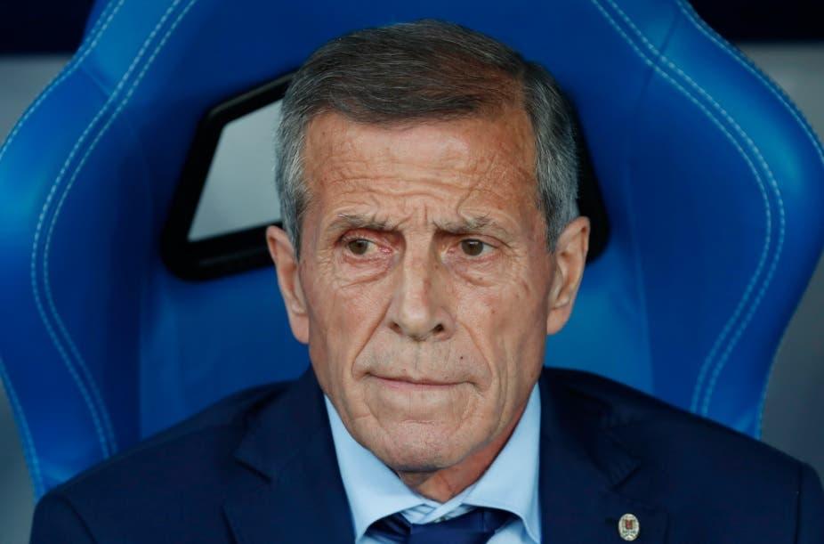 """Tabárez admite que Uruguay jugó """"mal"""" y se excusa en el calor """"insoportable»"""