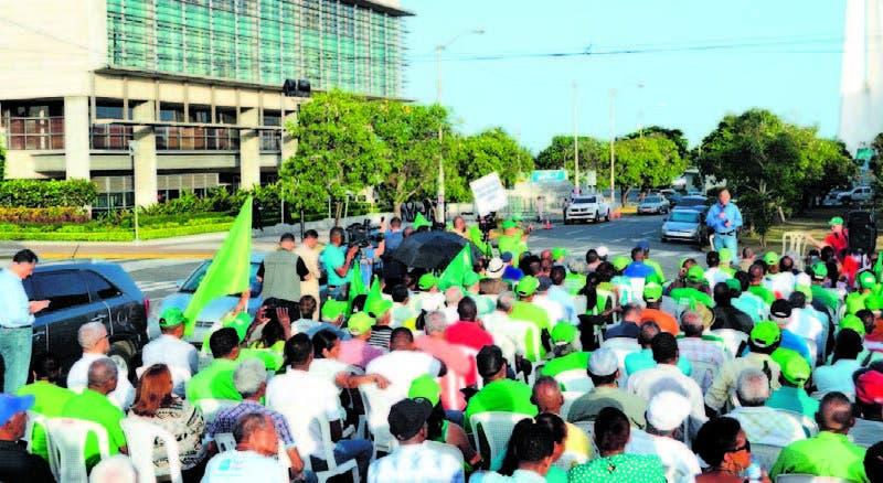 PC dice se sumará al campamento contra la corrupción levantado próximo a la Pro curaduría