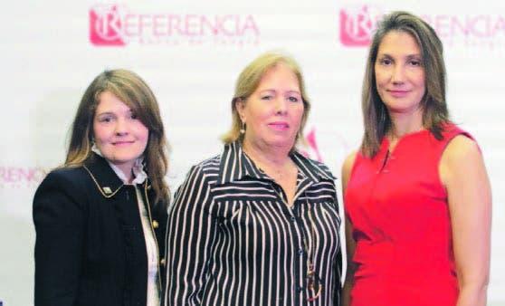 Priscilla Kelly, Alma Valverde y Cynthia León