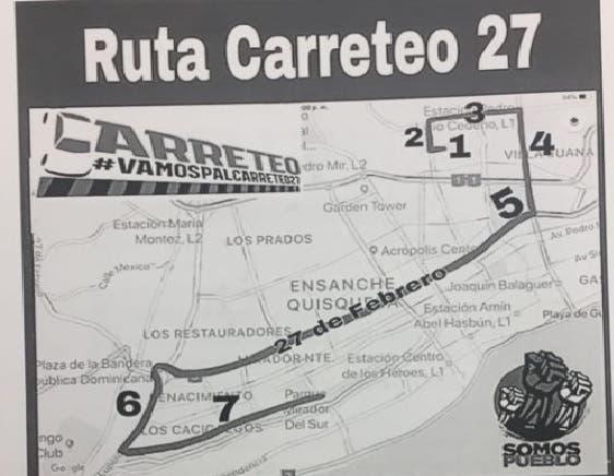 No coja tapones: Las calles que debe evitar hoy si usted no va a apoyar el carreteo
