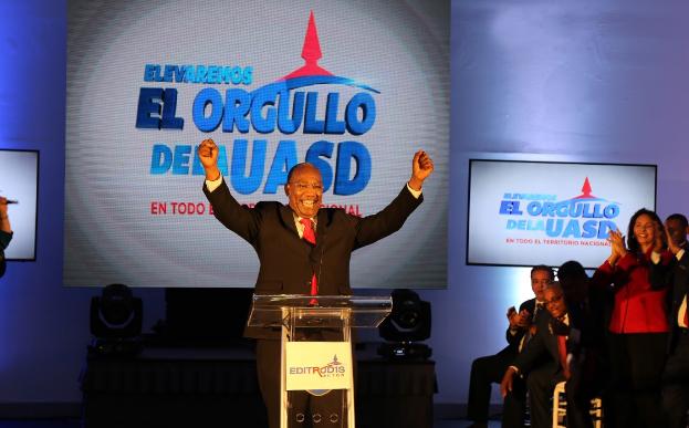 Editrudis Beltrán llaman a votar contra el caos y corporaciones en la UASD