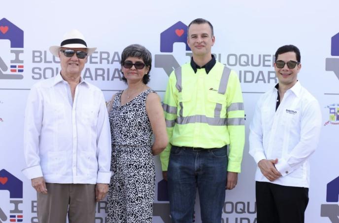 Lanzan programa de responsabilidad social empresarial «Bloquera Solidaria»