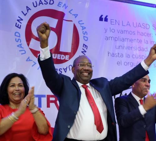 Firma internacional dice Editrudis ganará rectoría de la UASD en primera vuelta