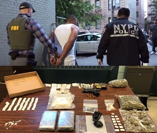 FBI apresa narcotraficantes hispanos en El Bronx e incautan 300 mil dólares