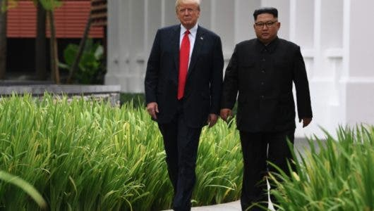 """Trump asegura que evitó una """"catástrofe nuclear"""" tras cumbre con Kim"""