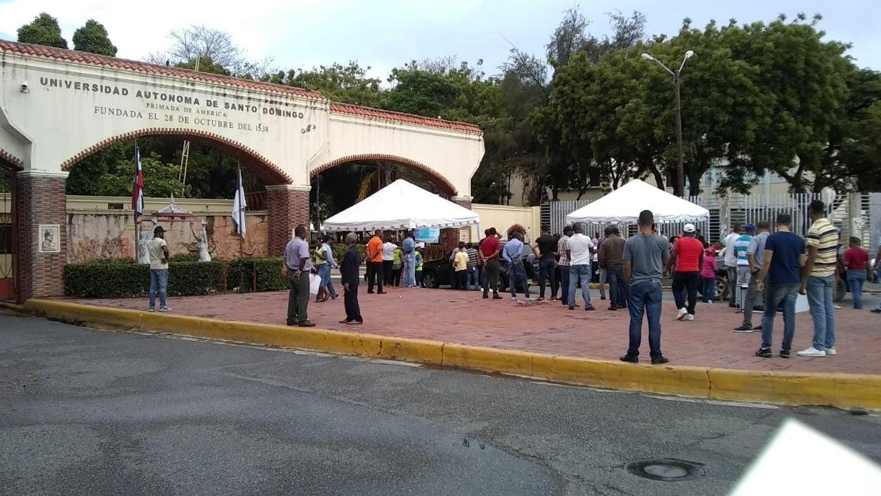 Video: Así van las elecciones para elegir las nuevas autoridades de la UASD