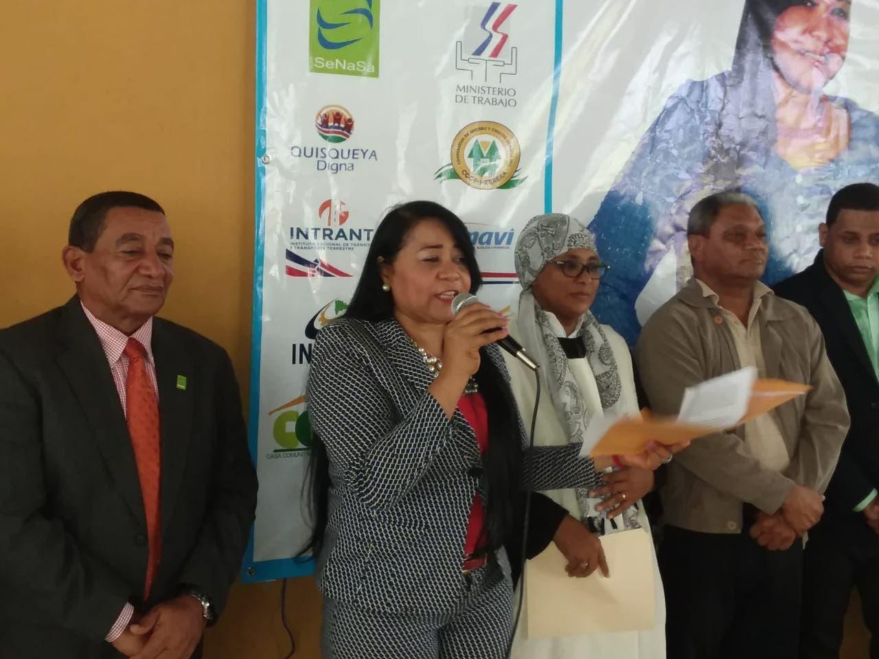 Vicealcaldesa apertura jornada de inclusión social enEl Café de Herrera