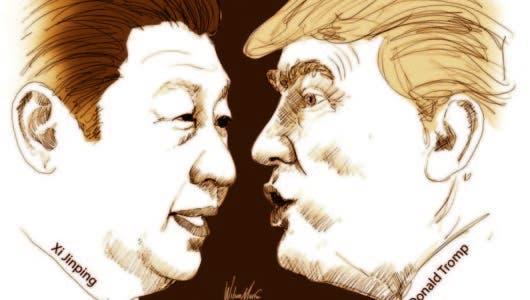 Aranceles de Trump y Jinping