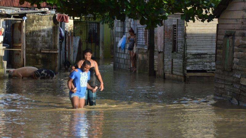 Recorrido por las provincias Duarte, María Trinidad Sánchez y Samaná, para realizar reportaje sobre las inundaciones por las llubia caida en la zona. hoy/ Napoleón Marte 15/11/2016