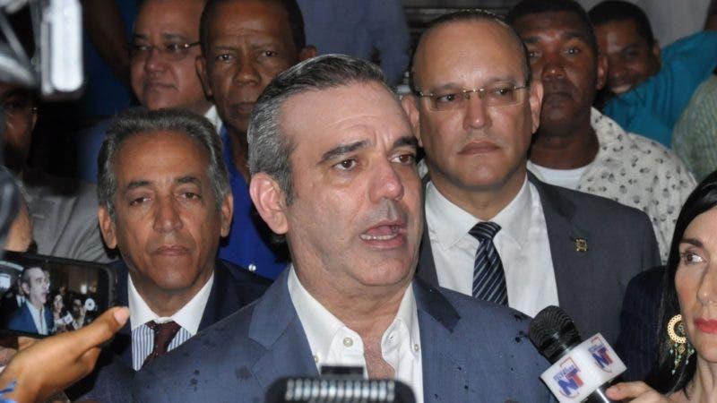 Luis Abinader/Arlenis Castillo/12/07/18.