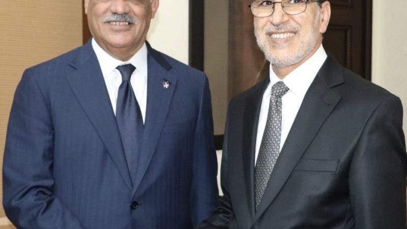 Canciller Miguel Vargas se reúne con jefe del Gobierno de Marruecos; logra puente aéreo entre los dos países. Fuente externa 20/07/2018