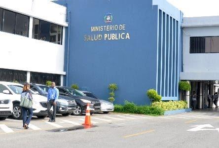 Fachada del Ministerio de Salud Publica. Hoy/ Arlenis Castillo/20/06/18.