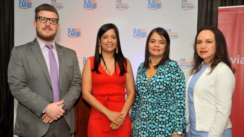 Rostros. programa.   Gutiérrez, Alicia Abreu, Alexandra Orozco y Leydi Pachon (Principal)