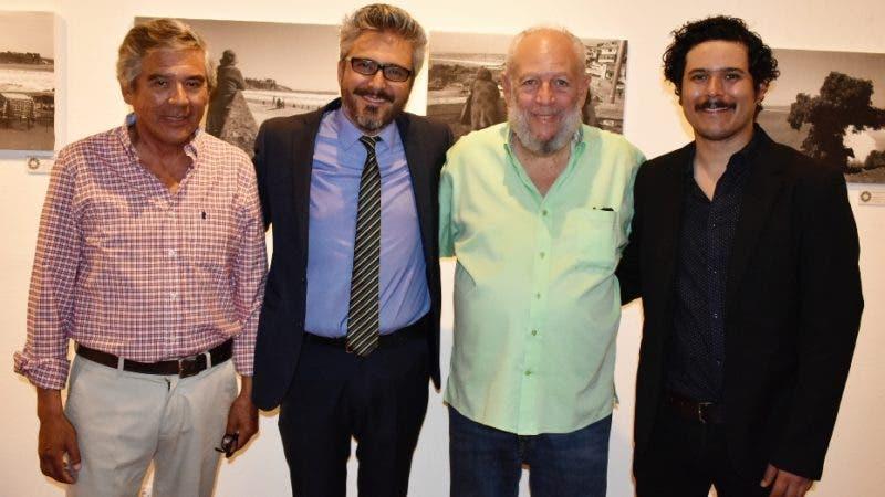 Rostros.  Maglio. -Maglio Pérez -padre-, Maglio Pérez, Freddy Ginebra y Danilo Pérez