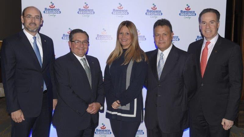 Ejecutivos de Banesco Seguros ofrecieron  un coctel a sus  principales corredores, para presentarles los resultados de sus operaciones desde sus inicios en el país hasta la actualidad y la visión de negocios para esta segunda mitad del 2018.