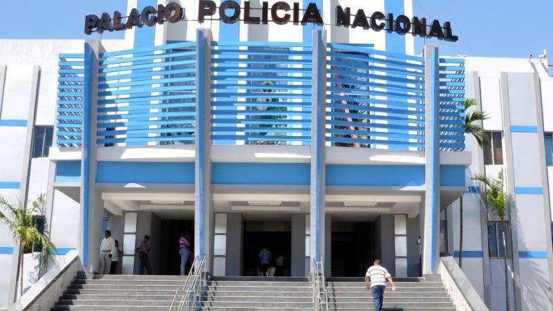 El País / Fachada del Palacio de la Policía Nacional, Hoy / Francisco Reyes / 18 / 03 / 2014 /