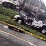 Imágenes del accidente capturada en videos.