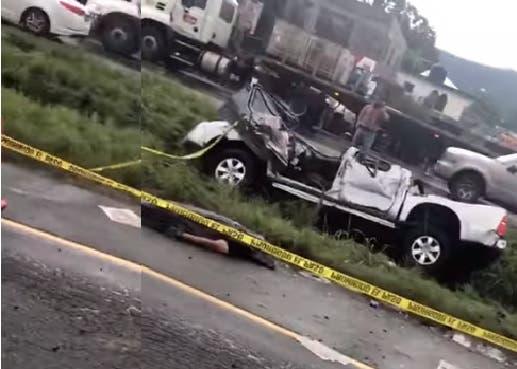 Video: Muere hombre durante accidente en autopista Duarte