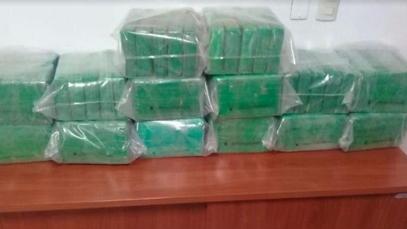 Cocaína ocupada en costas de Miches, provincia El Seibo.