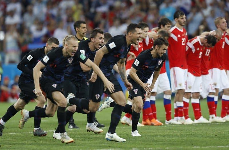Croacia derrota 4-3 a Rusia en una definición por penales y avanza a las semifinales del Mundial