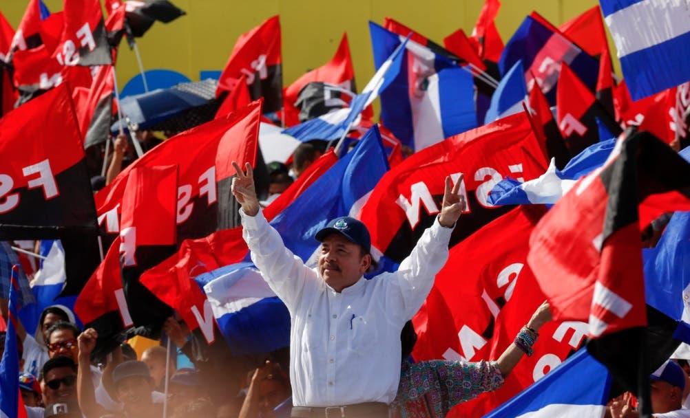 EN VIVO: Daniel Ortega encabeza celebración de la revolución en Nicaragua en medio de crisis