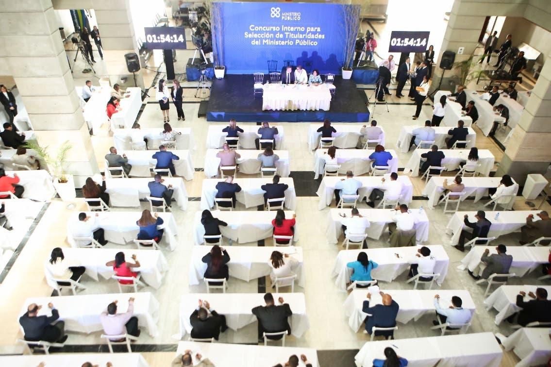 Estos son los fiscales que están participando en el concurso del Ministerio Público