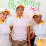 Martha Ramírez, Ramona Pichardo y Dargelis Santos