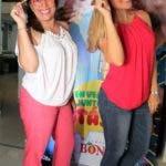 Nazzira Santana y Laura de la Nuez