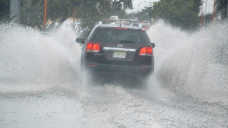 Foto tormenta Beryl en RD. Hoy/ Napoleón Marte
