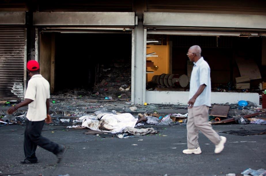 Haití anuncia investigación de disturbios dejaron siete muertos y pérdidas millonarias