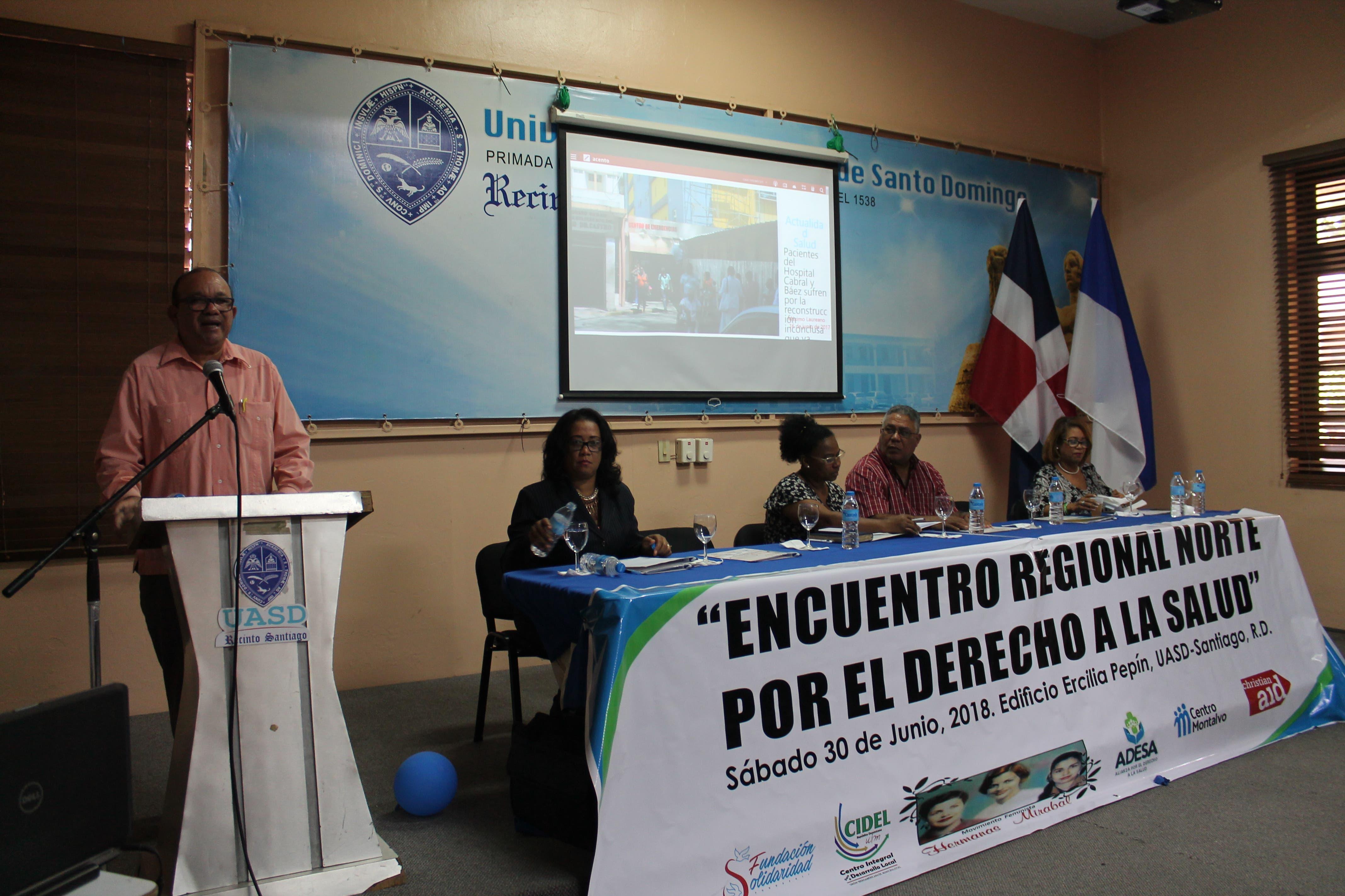 Organizaciones sociales del Cibao exigen salud digna