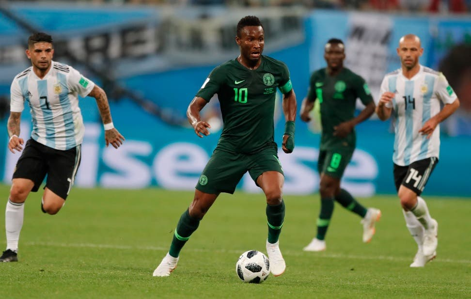 Capitán nigeriano jugó en Mundial pese a secuestro del padre