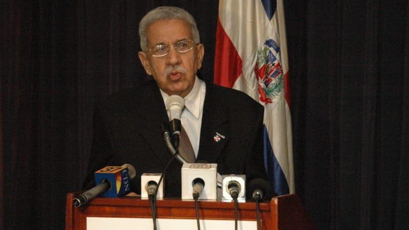 José Joaquión Pérez Saviñón, presidente Instituto Duartiano.