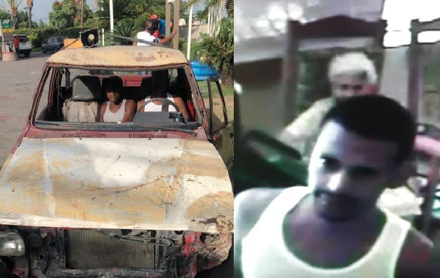Apresan dos  hombres simulaban vender plátanos en camioneta para robar en viviendas