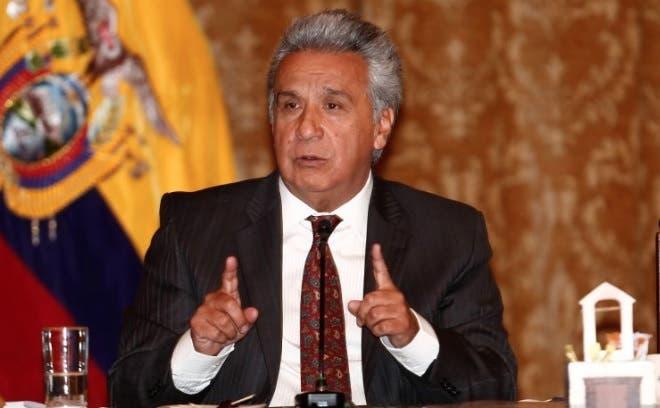 El presidente de Ecuador, Lenín Moreno/Fuente externa.