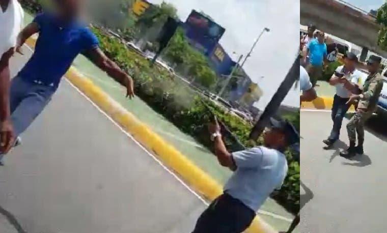 """Videos: Entérese de todos los detalles sobre el caso del Policía Municipal que mató hombre que defendía «limpiavidrios"""""""