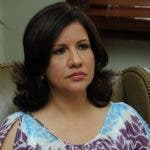 Vicepresidente Margarita Cedeño.
