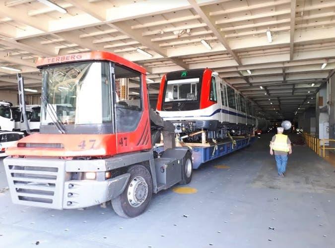 Trenes para la línea 2B del Metro de Santo Domingo llegarán a partir del 24 de este mes
