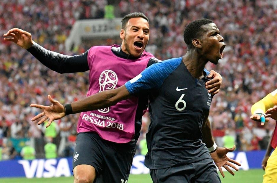 Francia derrota a Croacia 4-2 y es la nueva campeona del mundo
