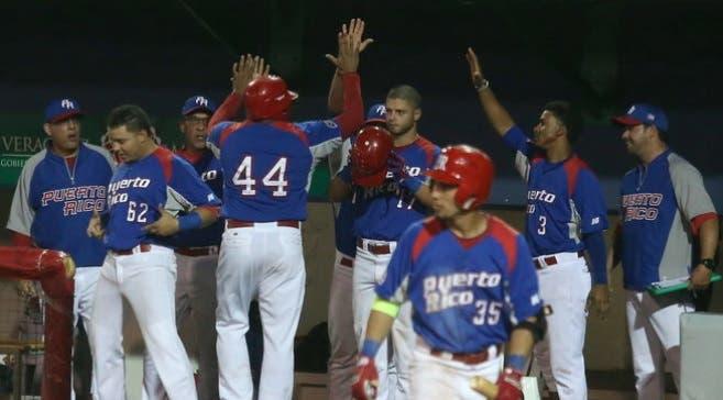 Puerto Rico vence a Dominicana y sigue imparable en el béisbol