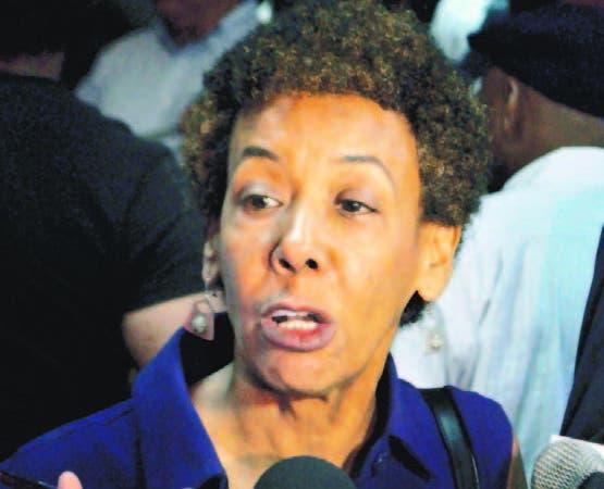 Sergia Galván, del Foro Feminista