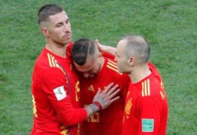 El defensa español Sergio Ramos/Foto: Fuente externa.