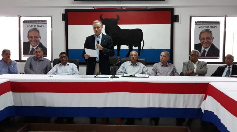 El PRSD anuncia escogencia de candidato a la presidencia de la República