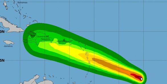 Restos de la tormenta Beryl dejará tormentas eléctricas en Vieques y Culebra