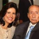 Vicepresidenta Margarita Cedeño junto a su padre el señor Luis Emilio Cedeño Matos