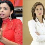 La fiscal Yeni Berenice Reynoso y la fiscal interina Rosalba Ramos